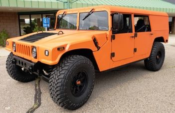 TURN KEY Orange Humvee
