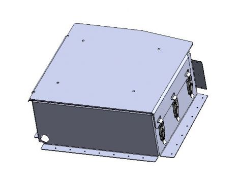 Seat base, Passenger front, battery box enclosure