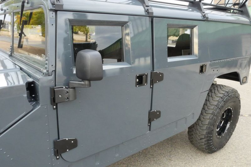 Humvee aftermarket hinges and mirror : humvee doors - pezcame.com