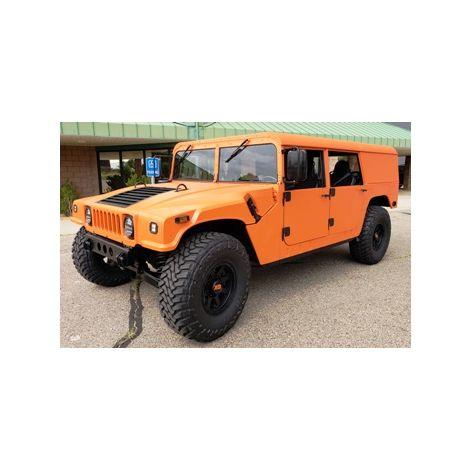 TURN KEY Orange Humvee