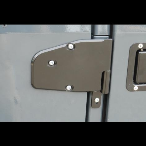 Billet Aluminum Door Hinges (Front) With mounts for our hinge mounted mirror.