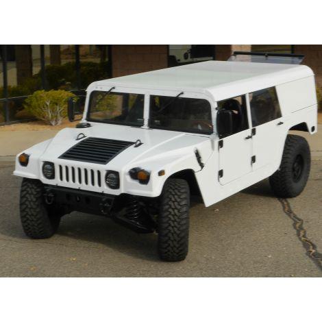 White four door Hardtop Wagon